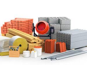 набор строительных материалов