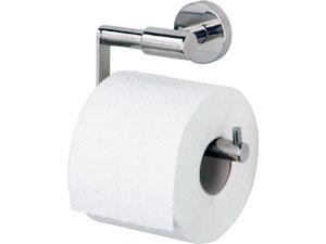 рулон туалетной бумаги на держателе