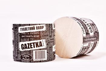 "рулоны туалетной бумаги ""Газетка"""