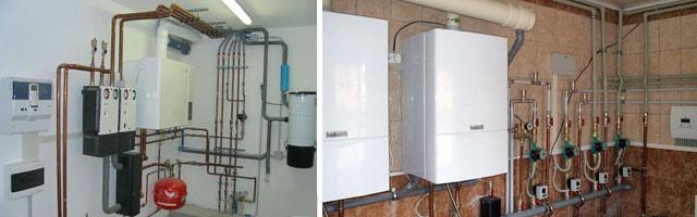 два вида отопления на газе